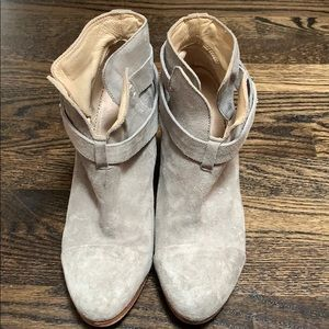 Rag and Bone gray boots